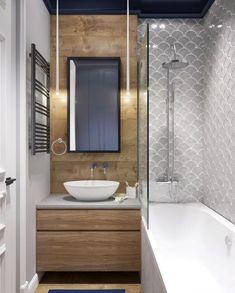 7+ idées de carreaux de salle de bains - Salles de bains carrelées colorées,  #bains #carreaux #carrelées #colorées #idées #Salle #salles