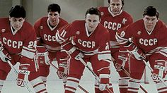 """CCCP hockey. See the movie """"The Red Army"""" it's fantastic for hockey and political historians"""