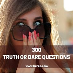Drink or dare - Here is the best list of funny truth or dare questions that will make the game more fun and interesting. There are more than 300 questions to choose from. Funny Truth Or Dare, Good Truth Or Dares, Best Truth Or Dare, Truth Or Dare Games, Intj, Tumblr Hipster, Dating Quotes, Dating Humor, Dating Advice