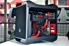 BitFenix Prodigy red and black