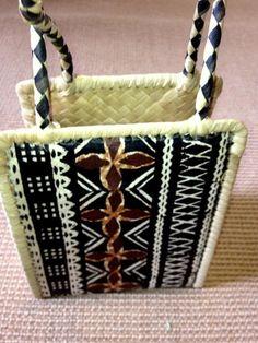 Beautiful Fijian basket