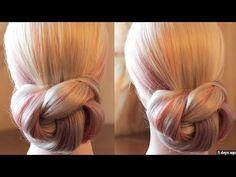 Peinado recogido sencillo paso a paso | Easy updo step by step - YouTube