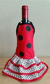 Image result for wine bottle dresses patterns