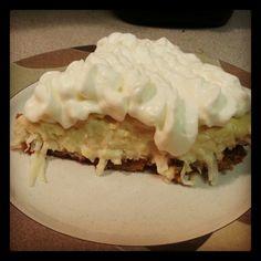 My coconuy cream pie