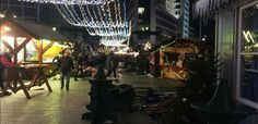 """""""#BREAKING: carinage at Breitscheidplatz in #Berlin after a truck plows into the Christmas market"""""""