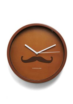 If I owned this clock, my life would be complete.     Bol-en Times Clock in Refined from Modcloth.com