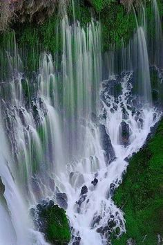 Burney falls;USA