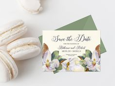 For more coordinating/similar pieces, please click this link: http://etsy.me/2hjCTBm 5x7 Inches (Fits within an A7 envelope) Save The Date design is sold as is - no color, layout, design, or font changes. Only the information details of the Save The Date are customizable. What