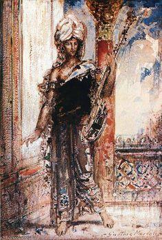 de Gustave Moreau (1826-1898, France)
