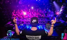 BORGEOUS AT GROOVE CRUISE LA!  Don't miss the next boat....Miami Jan 28-Feb 1.  www.thegroovecruise.com