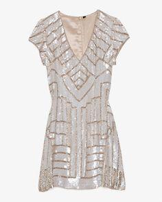 Parker Serena Sequined Cap Sleeve Dress-Just In-Clothing-Categories- IntermixOnline.com