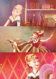 "Frozen~Anna""I know it's funny to dream I'd find romance, but for the first time in forever at least i got a chance. Disney Love, Disney Magic, Disney Art, Disney And Dreamworks, Disney Pixar, Walt Disney, Frozen And Tangled, Disney Frozen, Frozen Princess"