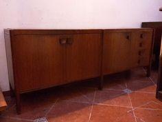 aparador bargueño estilo nordico danès en madera