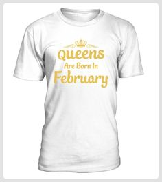 Queens Are Born In February TShirts (*Partner Link)