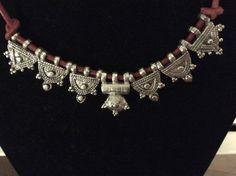 Ethiopian Ethnic silver telsum, necklace, amulets with fillegrain decor of Gondar region, African Necklace, African Beads, African Jewelry, Tribal Jewelry, Indian Jewelry, Silver Jewelry, Ancient Jewelry, Antique Jewelry, Antique Silver