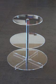 Tortenständer aus Acryl / Plexiglas