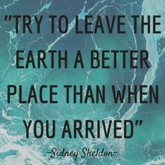 What have you done to make our world a better place? #earthorganization #laeo #earth #solution #projects #protect #life #environment #ocean #beach #air #pollution #love