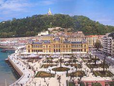 San Sebastian. Euskadi. Spain.