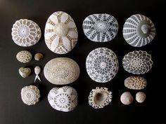 Crochet Covered Rocks
