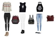 """""""Done by Cleo Ochayon"""" by sophraddd on Polyvore featuring Valfré, Boohoo, H&M, Topshop, Converse, Valentino and Victoria's Secret"""