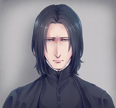 Professor Severus Snape, Harry Potter Severus Snape, Severus Rogue, Harry Potter Anime, Harry Potter Fan Art, Multimedia, Gellert Grindelwald, Half Blood, Fantastic Beasts