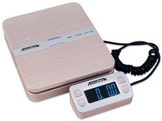 Accuteck ShipPro W-8580 110lbs x 0.1 oz Gold Digital shipping postal scale, Limited Edition