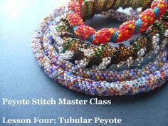 Peyote Stitch Master Class Tubular and Spiral Peyote Tutorial