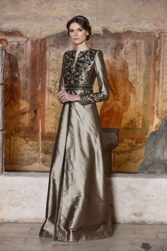 Dilek Hanif, Spring 2016 Couture Trendy Dresses, Fashion Dresses, Women's Fashion, Hijab Dress Party, Best Fashion Designers, Fantasy Gowns, The Dress, Fancy Dress, Western Dresses
