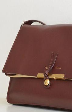 Celine. brown. shoulder bag. gold. hardware.