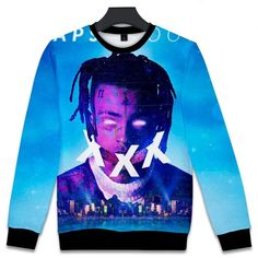 XXXtentacion Revenge Hoodie New Print Hip Hop Sky Revenge Hoodie For Mens Sweater Hoodie, Pullover Sweaters, Men Sweater, Zip Up Hoodies, Mens Sweatshirts, Revenge Hoodie, New Print, Winter Outfits, Zip Ups