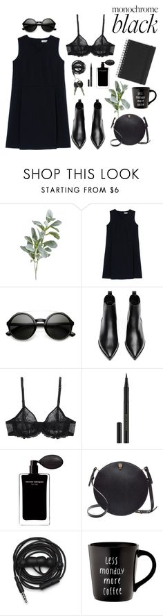 """""""Untitled #248"""" by izaza ❤ liked on Polyvore featuring Pier 1 Imports, Jil Sander, ZeroUV, Acne Studios, La Perla, Kevyn Aucoin, Narciso Rodriguez, Valextra, Urbanears and Muji"""