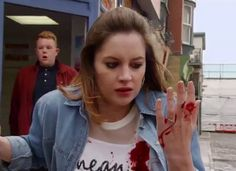 Coronation Street viewers 'disgusted' after Kylie Platt death is aired BEFORE watershed Coronation Street Cast, Soap Stars, Tv Soap, Tv On The Radio, Favorite Tv Shows, Soaps, Kylie, Death, Told You So