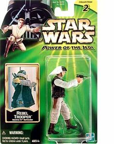 Star Wars Power of the Jedi Action Figure - Rebel Trooper - Tantive IV Defender…