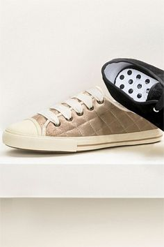 Women's Shoes - Next Metallic Quilted Pumps