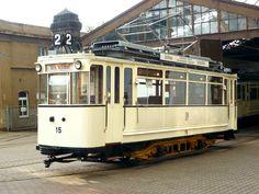 Historische Straßenbahn Chemnitz  _____________________________ Bildgestalter http://www.bildgestalter.net