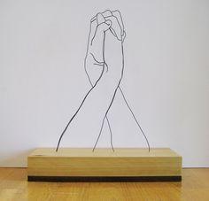 針金アート3