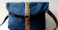 сумка из джинсовой ткани, сумка-трансформер, сумка-рюкзак