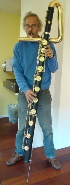 The contrabassflute was designed to perform as a solo instrument as well as a bass instrument in choirs.