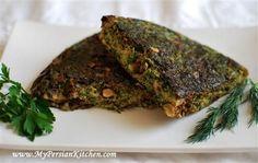 Iranian Herb and Walnut Frittata | Recipe | Herbs, Frittata Recipes ...