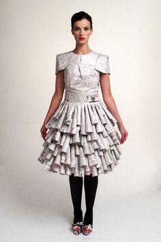 The Irish Times & The Gloss Magazine Dress : Renate Henschke