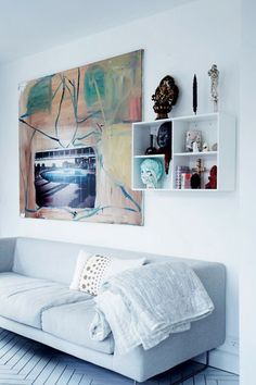 What Art can do for a home - via Coco Lapine Design