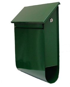 Letterboxes Wall Mount Sandleford Vault Letterbox Wall Mount, Green, H370xW455xD103mm New Zeland Harkness and Young