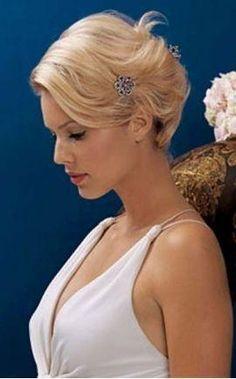 bridal chignon