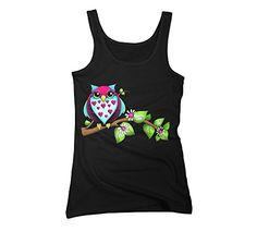 Owl Loves A Lot Women's X-Large Black Graphic Tank Top - Design By Humans Design By Humans http://www.amazon.com/dp/B00LT9QZ8C/ref=cm_sw_r_pi_dp_M.88tb1GHQR6Z