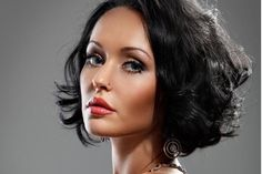 curly inverted (A-line) bob    http://www.hairstylestars.com/a-line-bob/