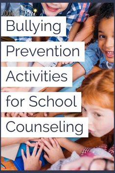 Looking for bullying prevention activities to get your students engaged with one another in meaningful ways? You'll love these 4 activities for bullying classroom guidance lessons in your school counseling program! Anti Bullying Lessons, Anti Bullying Activities, Counseling Activities, Kindness Activities, Elementary School Counseling, School Counselor, Counseling Office, Group Counseling, Elementary Education