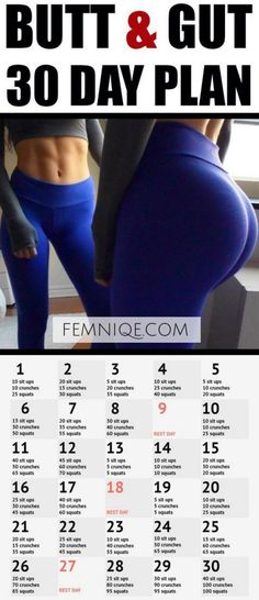 How To Get A Bigger Booty In Little Time (This Works 100%) – Toned