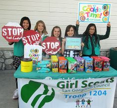 The 102 best images about Girl Selling Girl Scout Cookies, Girl Scout Cookie Sales, Brownie Girl Scouts, Girl Scout Leader, Girl Scout Troop, Girl Guide Cookies, Cute Cookies, Gs Cookies, Girl Scout Activities