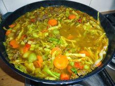 Frugal food - savoury mince