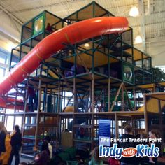 The Park | Free Indoor Playground at Traders Point Church | Indy with Kids